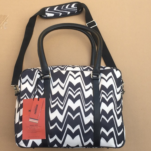 c57d903af3 Missoni for target Zig Zag Travel Tote